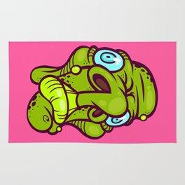 Monster Head Rug