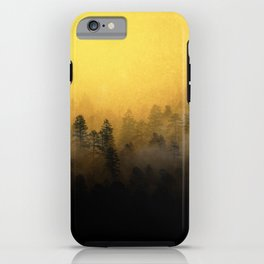 Colour in The Mist - Golden iPhone Case