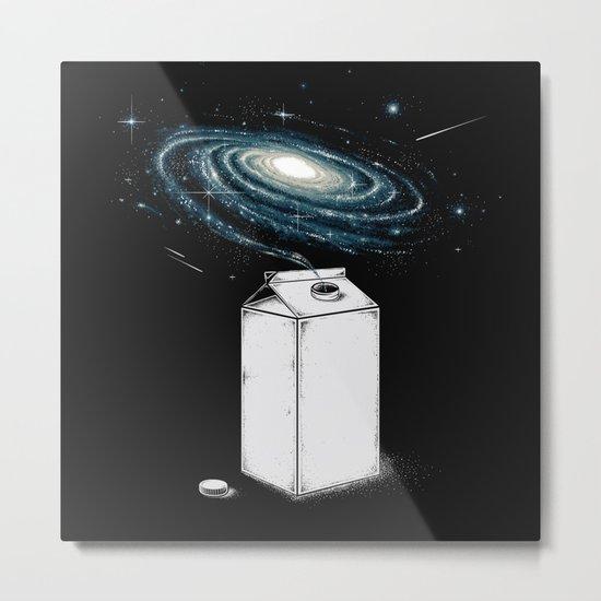 Milky Galaxy Metal Print
