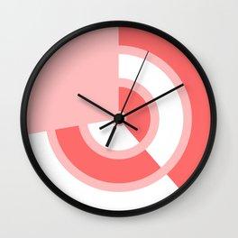 STRAWBERRY-CREAM TARGET Wall Clock