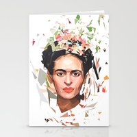 frida Stationery Cards featuring Frida by Tracie Andrews