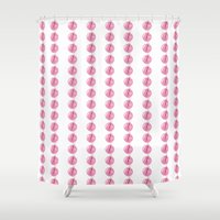 food Shower Curtains featuring Food by JeeSee