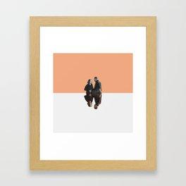 April and Jackson Framed Art Print