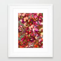 olivia joy Framed Art Prints featuring OLIVIA by Charley Sedgeley