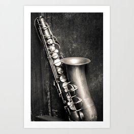 Music in my heart Art Print