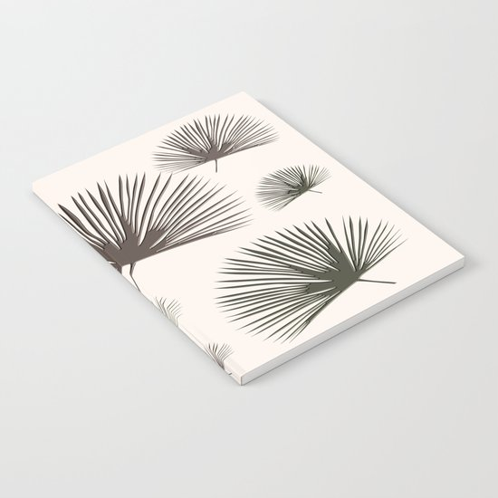 Softer Seasons (sand fan palm) Notebook