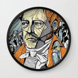 Hegel Wall Clock