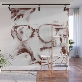 The Visionary Sepia Wall Mural
