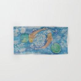 Koi Pond Batik Hand & Bath Towel