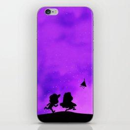 Gravity Falls - Purple iPhone Skin