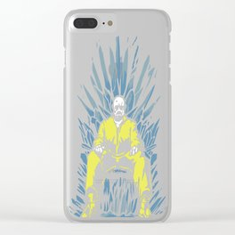 Breaking Bad Game of Thrones Clear iPhone Case