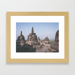 Temple, Indonesia Framed Art Print