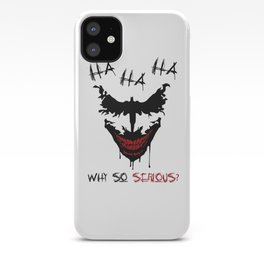 Bat starts to Laugh iPhone Case