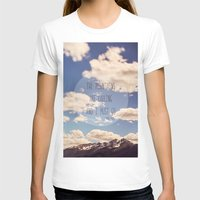 the mountains are calling T-shirts featuring the mountains are calling by shannonblue