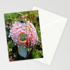 Killer Mushroom Stationery Cards