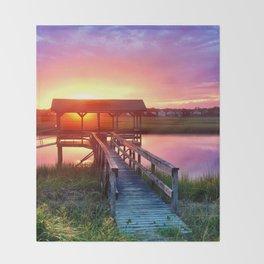 Litchfield Sunset Throw Blanket