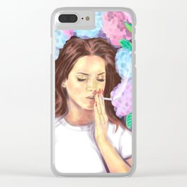 Lana smokes (Ultraviolence) Clear iPhone Case
