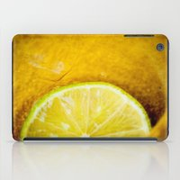 lemon iPad Cases featuring Lemon by Ginta Spate