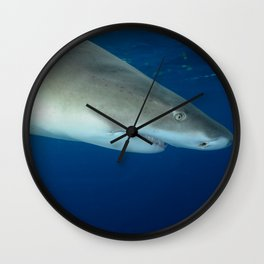 Lemon from Above Wall Clock
