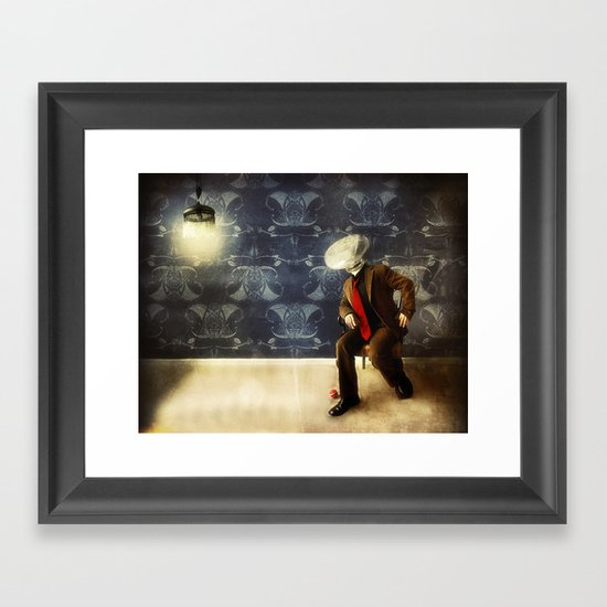 Mr. Glitch, 2 Framed Art Print