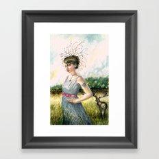 Crown of Fall Framed Art Print