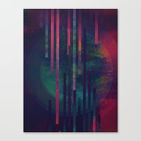 sound Canvas Prints featuring Sound by DuckyB