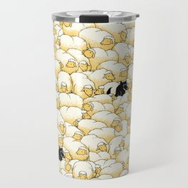 Find The Spy Pattern Travel Mug