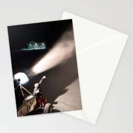 Snowmaker at work  Stationery Cards