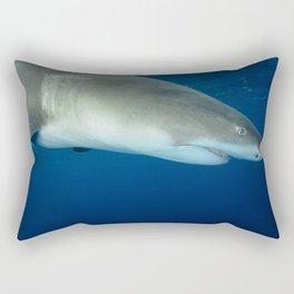 Lemon from Above Rectangular Pillow