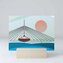 Esplanade Riel Mini Art Print
