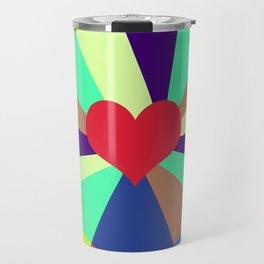 Listen To Your Heart Travel Mug