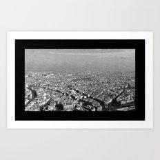 Le Skyline - Paris Art Print