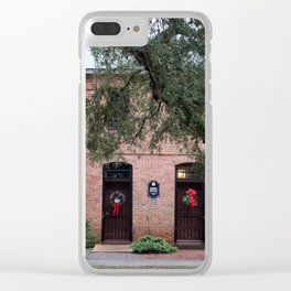 Old  Brunswick County Jail Clear iPhone Case