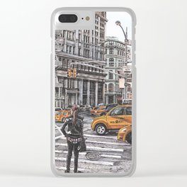 New York I Love You Clear iPhone Case