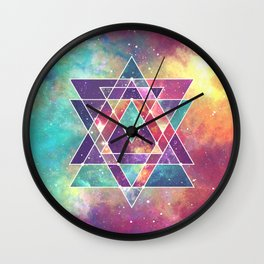 Sacred Geometry (Connection) Wall Clock