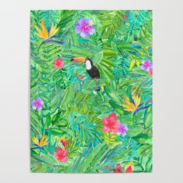 Foret tropicale Poster