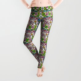 Stained Glass Window Leggings