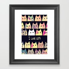cat-19 Framed Art Print