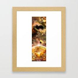 Rubix Calisto Framed Art Print