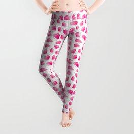 Pink Underbite Monsters Leggings