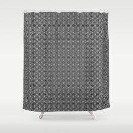 Zebra Illusions Pattern Shower Curtain