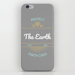 Protect the Earth (1) iPhone Skin