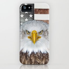 American Bald Eagle Patriot iPhone Case