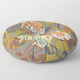 Tiger Totem Floor Pillow