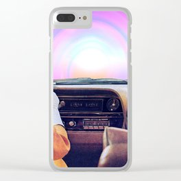 Going to Dream Land Clear iPhone Case