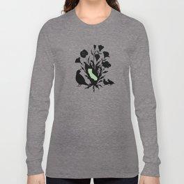 California - State Papercut Print Long Sleeve T-shirt