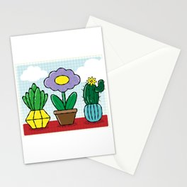artificial flowers Stationery Cards