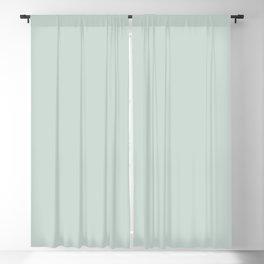 Ultra Pale Pastel Blue Green - Light Aqua Solid Color Parable to Valspar Distant Valley 5002-3A Blackout Curtain