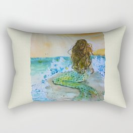 Final Joy Mermaid Rectangular Pillow