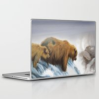 bears Laptop & iPad Skins featuring bears by Alessandra Razzi Illustrazioni